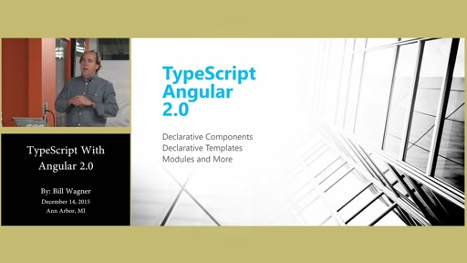 Angular 2.0 With Typescript By Bill Wagner