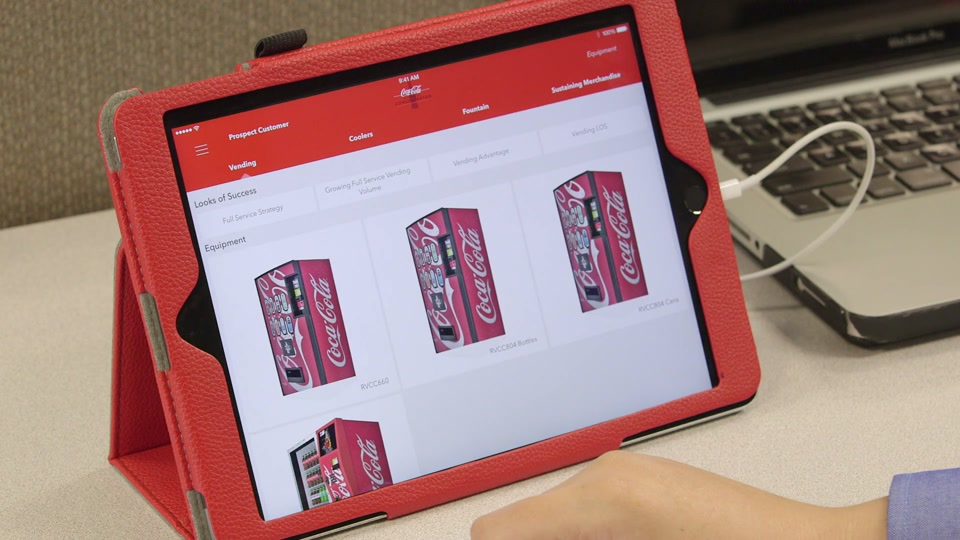 Coca-Cola Bottling Co. Consolidated Drives Sales with Dynamic Mobile Apps