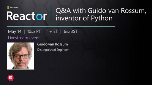 Q&A with Guido van Rossum, inventor of Python