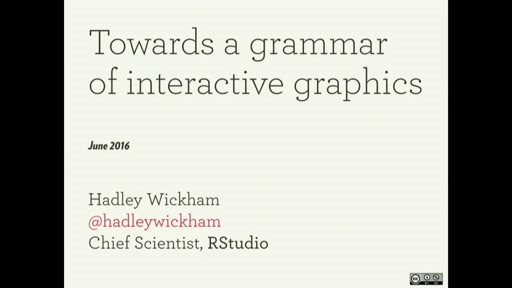 Towards a grammar of interactive graphics