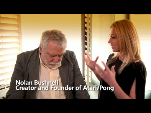 A Few Minutes with Nolan Bushnell - Creator of Pong and Atari