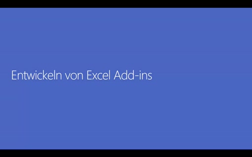 Office 365 Add-Ins - 05 - Excel-Add-Ins