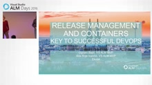 Release Management and Containers - Key to Successful DevOps