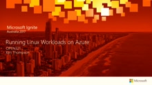 Running Linux Workloads on Azure