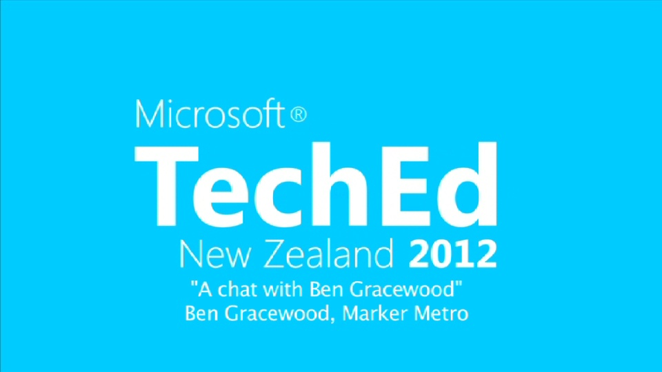 Tech Talk with Ben Gracewood