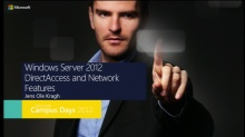 DirectAccess og alt om de nye Network features i Windows Server 2012