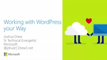 Working with WordPress Your Way