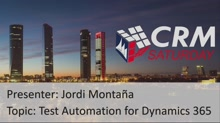Test Automation for Dynamics 365