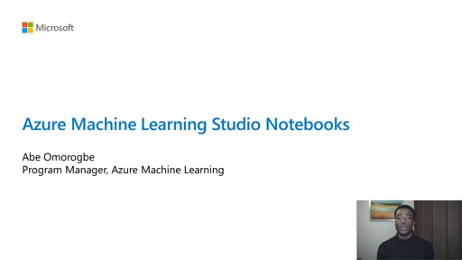 Edit and run Jupyter notebooks without leaving Azure Machine Learning studio
