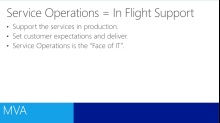 (Module 8) ITIL for IT Professionals - Service Operations
