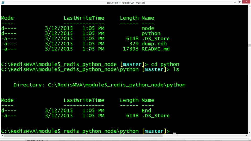 A Redis Jump Start: (05) Redis via C#, Python, and Node.js