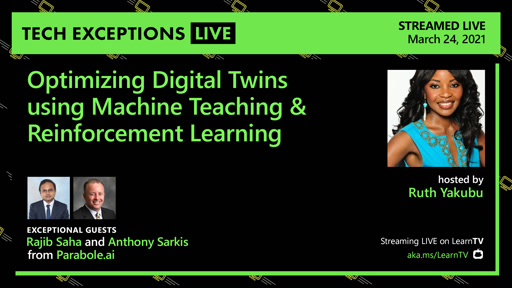 Optimizing Digital Twins using Machine Teaching & Reinforcement Learning