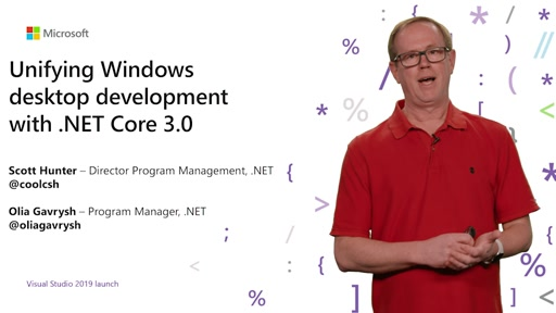 Visual Studio 2019 Launch: Windows Desktop Apps und .NET Core 3.0