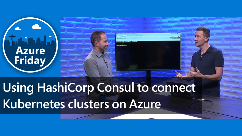 Using HashiCorp Consul to connect Kubernetes clusters on Azure
