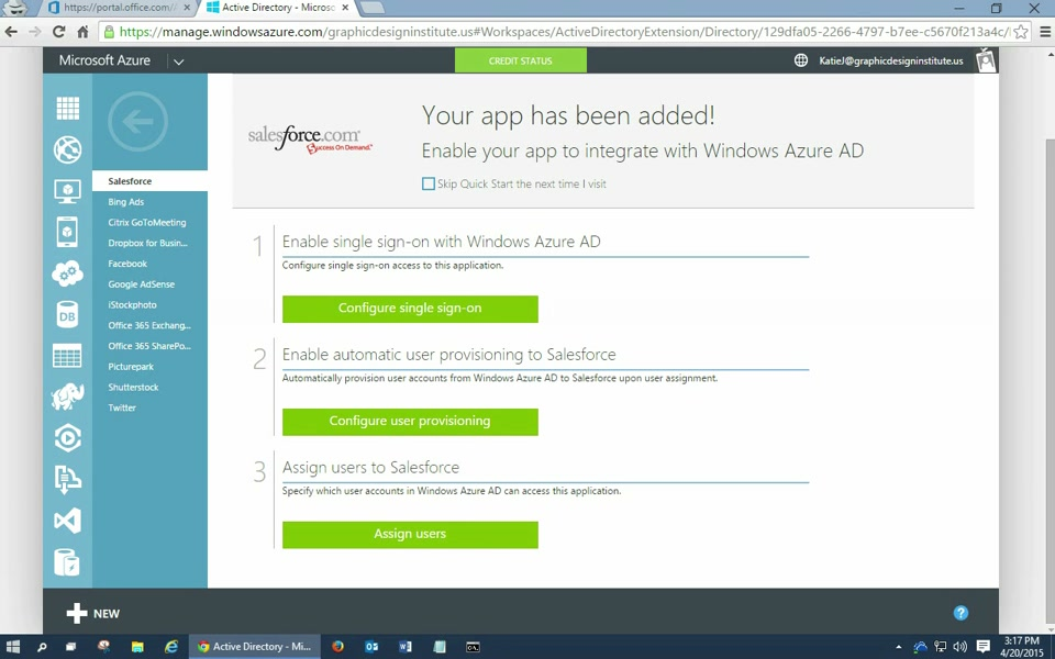 Integrating Salesforce with Azure AD: How to enable Single Sign-On (1/2)