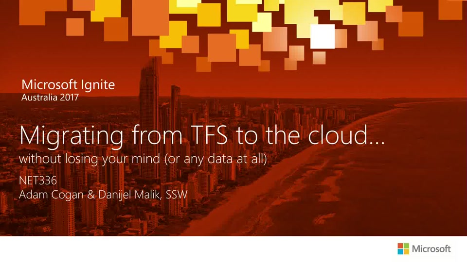 Migrating from TFS to the cloud    without losing your mind (or any data at  all)