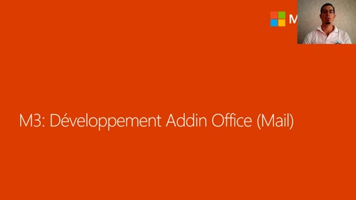 03 - Développement d'un Add-in Office (Mail)