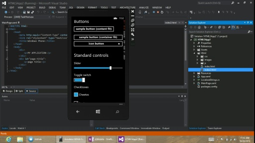 Demo - jQuery Mobile theme for Windows Phone 8