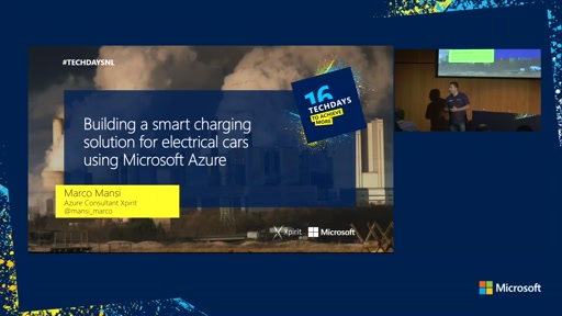 Building a smart charging solution for electrical cars using Microsoft Azure