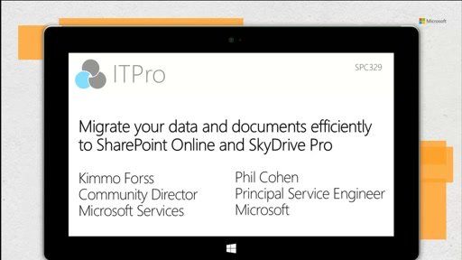 Migrate your data and documents efficiently to SharePoint Online and OneDrive for Business