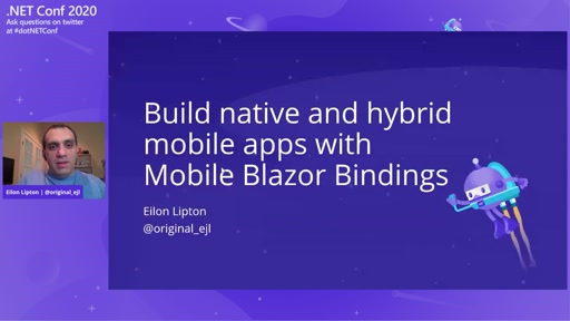 Build native and hybrid mobile apps with Mobile Blazor Bindings