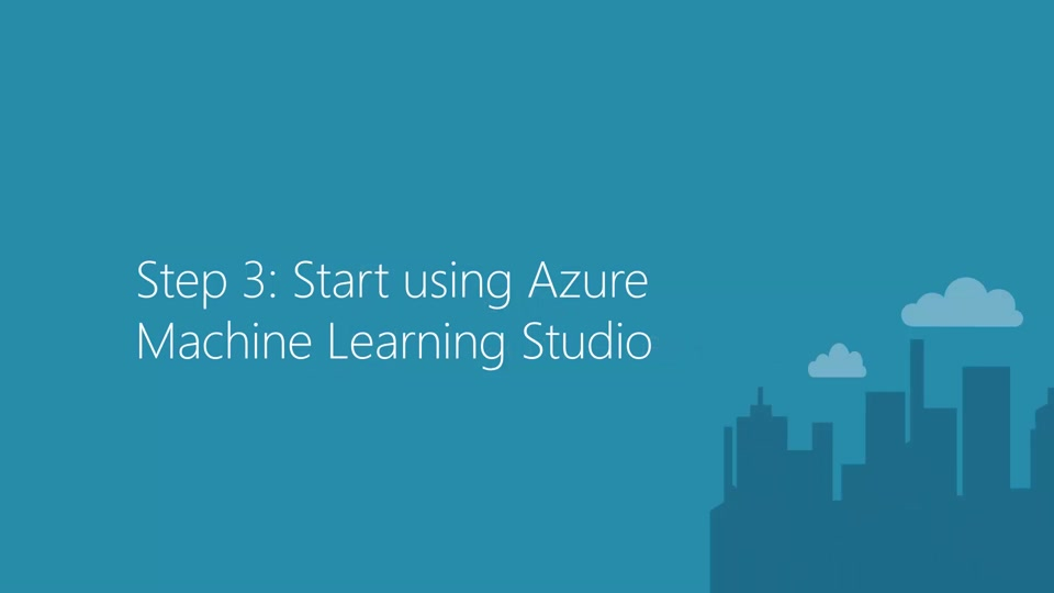 Getting Started with Azure Machine Learning - Step3