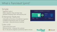 Migrating Email Achives Fast to Office 365 with TransVault Sprint