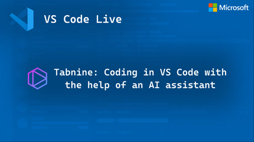 Tabnine: Coding in VS Code with the Help of an AI Assistant