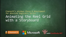 Part 22: Animating the Reel Grid with a Storyboard