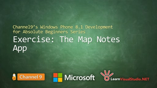 Part 29 - Exercise: The Map Notes App