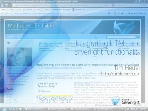 Silverlight: Integrating with HTML DOM