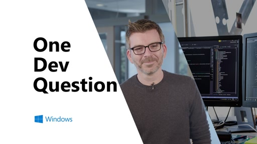 What are the different ways I can use XAML Islands? | One Dev Question with Miguel Ramos