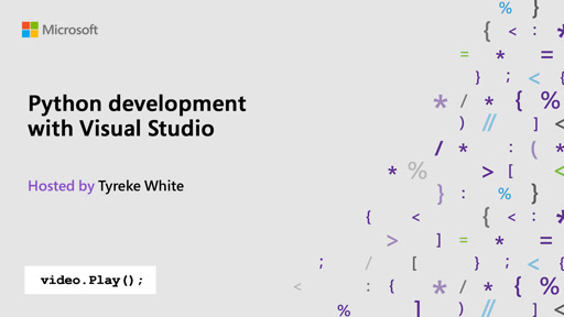 Python development with Visual Studio