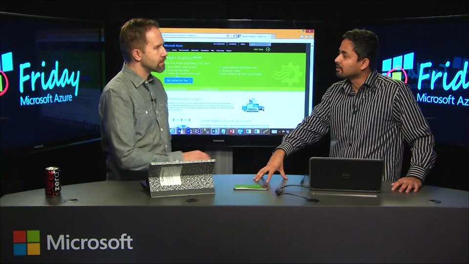 Introduction to Azure Stream Analytics with Santosh Balasubramanian