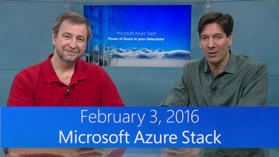 Azure Stack Webcast Preview