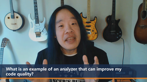 What is an example of an analyzer that can improve my code quality? | One Dev Question