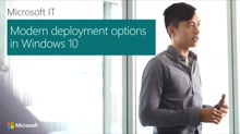 Modern deployment options in Windows 10