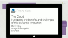 The Cloud: Navigating the benefits and challenges of this disruptive innovation