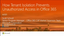 How Tenant Isolation prevents unauthorized access in Office 365