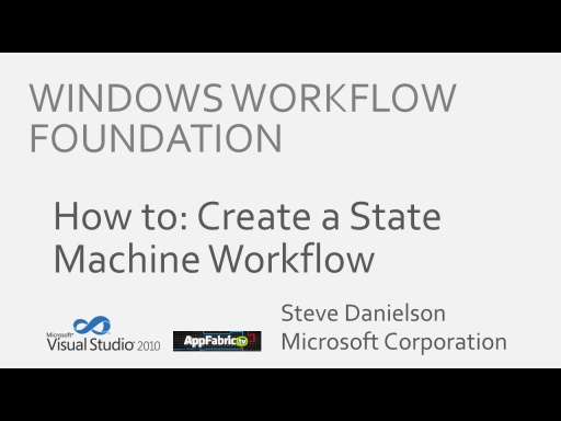 Workflow TV - State Machine Tutorial