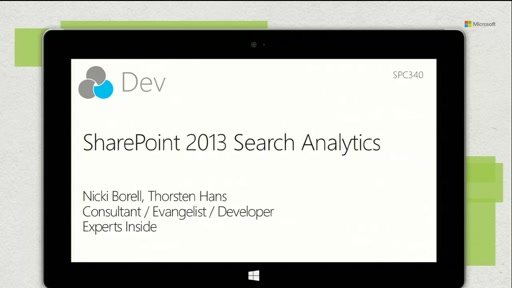 SharePoint 2013 Search Analytics