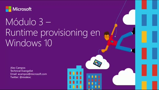 Runtime Provisioning en Windows 10