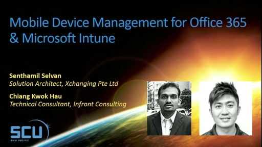 Mobile Device Management for Office 365 & Microsoft Intune