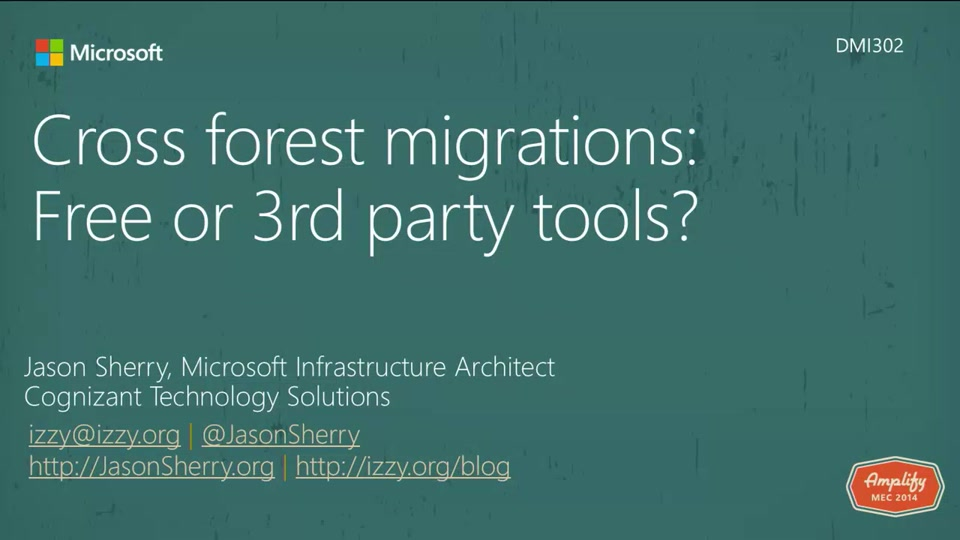Cross Forest Migrations Free Or 3rd Party Tools