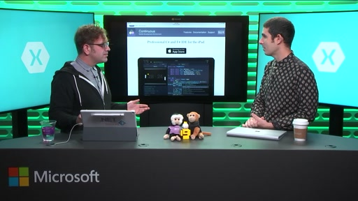 The Xamarin Show 7: Continuous C# & F# IDE for iPad with Frank Krueger