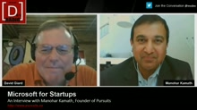 Microsoft for Startups: An Interview with Manohar Kamath, Founder of Pursuits