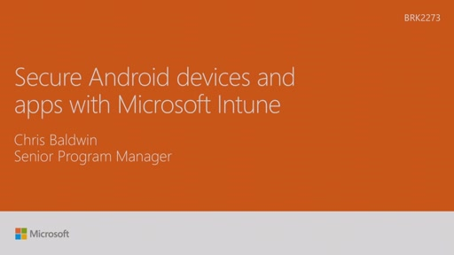 Secure Android devices and apps with Microsoft Intune