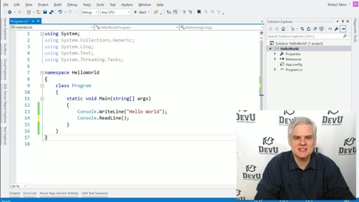 Understanding Your First C# Program