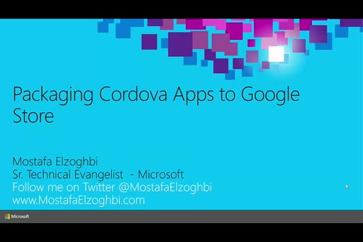 Packaging Cordova Apps to Google Store