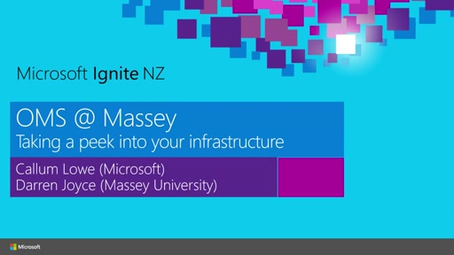 OMS @ Massey – Taking a peek into your infrastructure